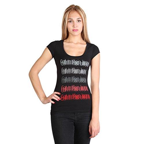 T-shirt Calvin Klein Donna Nero S