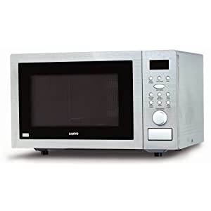 Sanyo EM-C6786V 1.0 Cu. Ft. Countertop Microwave Oven with