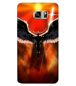 ColourCraft Dark Angel Design Back Case Cover for SAMSUNG GALAXY NOTE 6