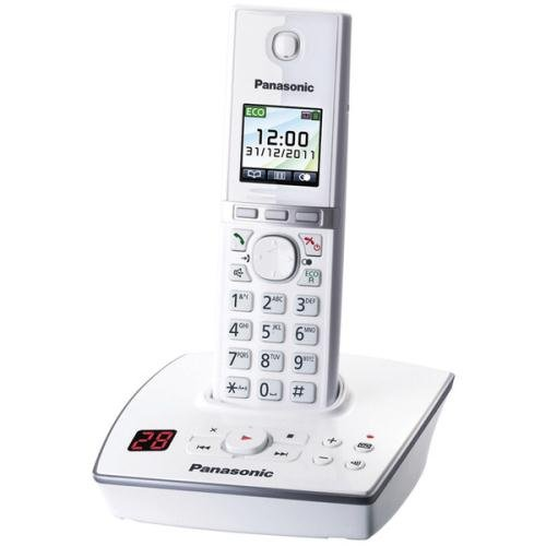 :Dect Telephone With A/machine Single White picture