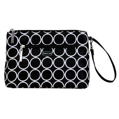 kalencom-kal-2741-black-hole-changing-bag-25-x-5-x-19-cm-black-white