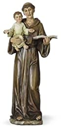 14.5'' St. Anthony Figure by Roman by Romans