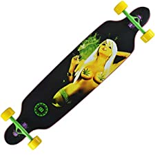 New Cruiser Through 9.5×42 Longboard Skateboard Complete
