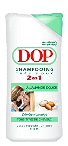 Dop Shampooing Amande Douce Lot de 3 x 400 ml