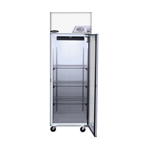 Nor-Lake Scientific Select Pass-thru Refrigerator +4C, Two door 1 Glass/1 solid Door 25 Cubic Ft.