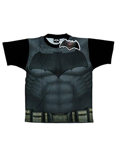 DC Comics Bambini e ragazzi Batman v Superman Batsuit Sublimazione T-shirt 9-11 Years Multicolore