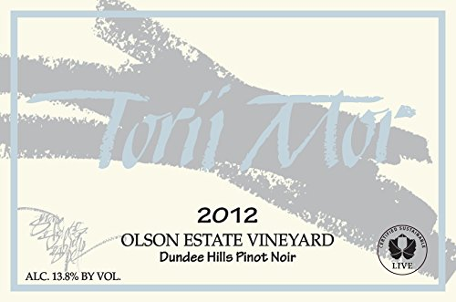 2012 Olson Estate Vineyard Pinot Noir 750Ml