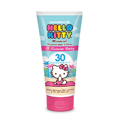 Hello Kitty Mineral Face Lotion, SPF 30, 5 Ounce - 1