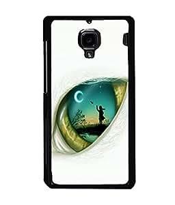 printtech Eye Girl look View Back Case Cover for Xiaomi Redmi 1S::Xiaomi Redmi (1st Gen)
