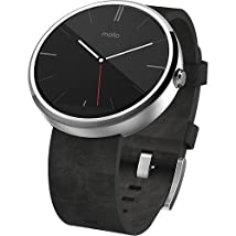 Motorola - Moto 360 Smart Watch for Android Devices 4.3 or Higher