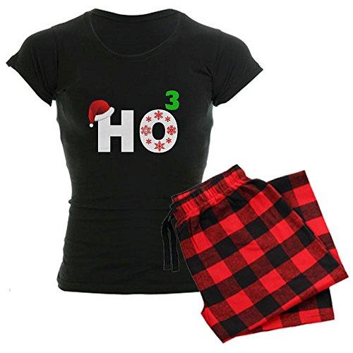 CafePress Funny christmas Women's Dark Pajamas Women's Dark Pajamas - XL With