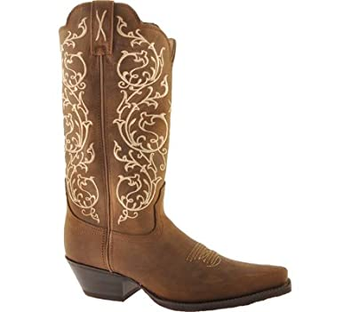 Amazon Com Twisted X Women S Western Scroll Embroidered Cowgirl Boot