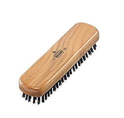 Kent Travel Clothing Brush Cherrywood Black Bristle Kent FOT Hair Comb