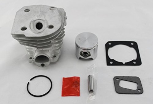 Cylinder-Piston-With-Gasket-Fit-HUSQVARNA-353-351-350-346-44mm