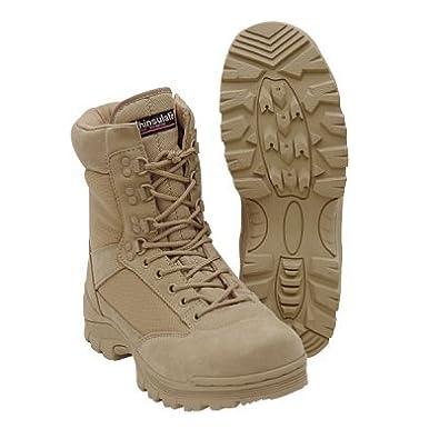 "9"" Tactical Boots (Khaki, Tan 14)"