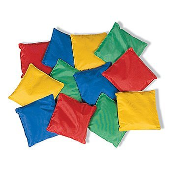 Fun-Express-Educational-Dozen-5in-Assorted-Nylon-Bean-Bags-Toy