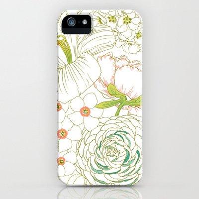 Society6/ソサエティシックス iphone5 ケース Big_Blooms