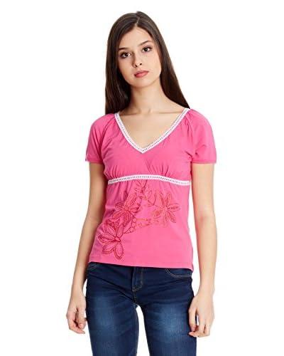Sándalo T-Shirt Manica Corta Elena [Rosa]