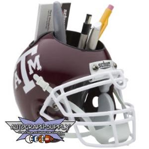 Texas A-M Aggies Mini Helmet Desk Caddy (Quantity of 1)