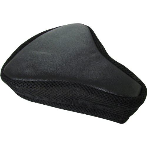 """Bicycle Seat Cover Padded (9""""X8""""X3"""") - Choose From Pink, Teal, Or Black (Black)"""