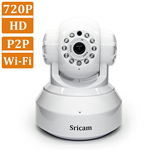 Wireless Cameras,Sricam Baby Monitor and Home Security Camera,HD,IP Camera,P2