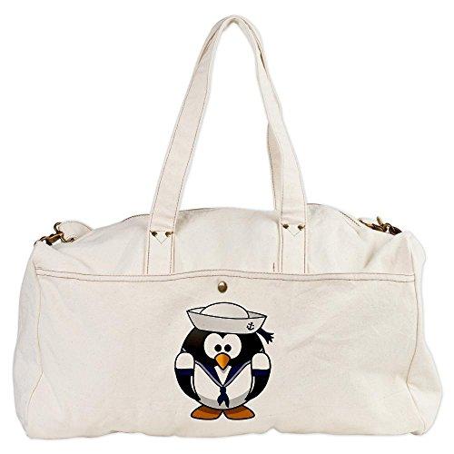 Duffel (Duffle) Bag Little Round Penguin - Navy Sailor