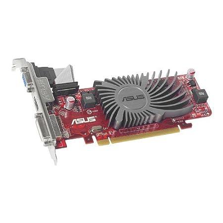 Asus EAH5450 SL/DI/512MD3/MG(LP) Carte graphique AMD RADEON HD 5450 PCIE 2.1 512 Mo DDR3 DVI-I/HDMI