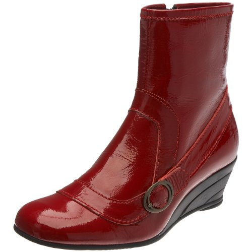 Fly London Women's Band Ankle Boot Red P141749007 4 UK