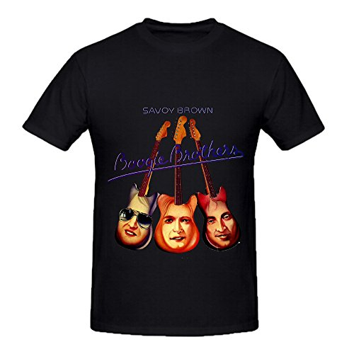 savoy-brown-boogie-brothers-rock-album-cover-mens-crew-neck-design-t-shirt-black