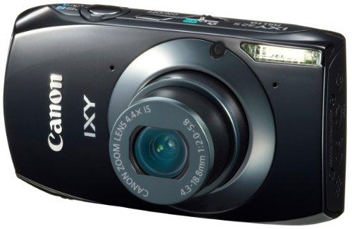 Canon デジタルカメラ IXY32ブラック IXY32S(BK) 1210万画素 光学4.4倍ズーム 3.2型ワイドタッチパネル フルHD動画