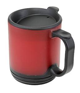 Amazon Com Aladdin 12 Ounce Desktop Mug Red Insulated