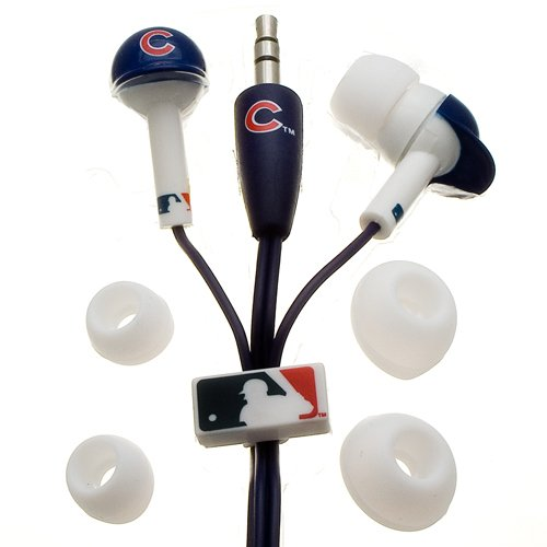 MLB Nes Group Chicago Cubs Batting Helmet Earbuds at Amazon.com