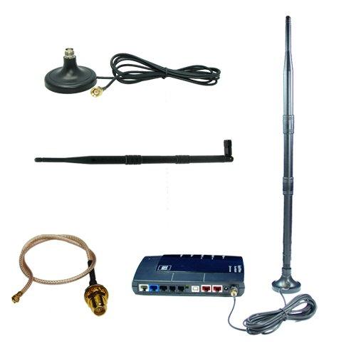 Umbauset WLAN Antenne, 9-12dBi Gewinn,