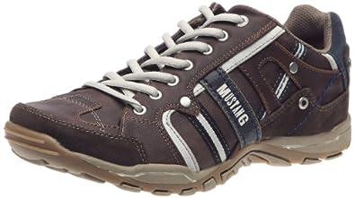 Mustang 4027302, Chaussures de marche nordique homme - Marron (323 Dunkelbraun), 41 EU