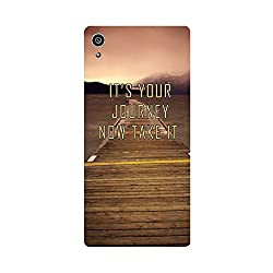 Skintice Designer Back Cover with direct 3D sublimation printing for Sony Xperia Z5