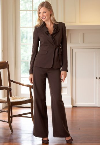 Buy Ruffle Jacket Pantsuit
