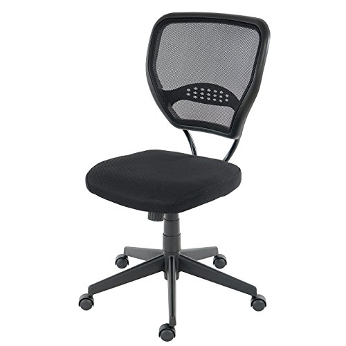 Profi-Brostuhl-Seattle-Chefsessel-Drehstuhl-150kg-belastbar-Textil-schwarz-ohne-Armlehnen