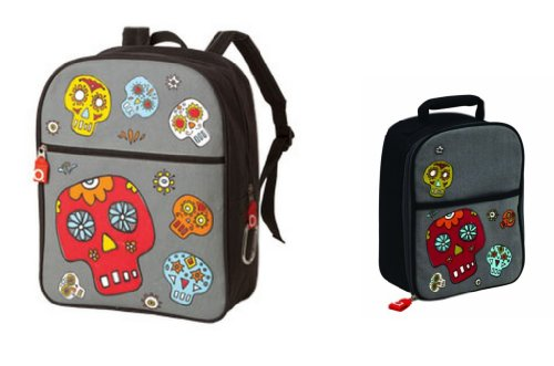 Ore Sugarbooger Zippee Backpack And Lunch Box Set, Dia De Los Muertos (Day Of The Dead)