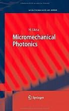 Micromechanical Photonics Microtechnology and MEMS