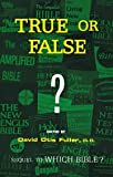 img - for True or False? book / textbook / text book