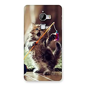 Gorgeous Dancing Cute Cat Back Case Cover for LeTv Le Max