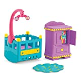 Fisher-Price Dora the Explorer Window Surprises Dollhouse, Nursery Furniture