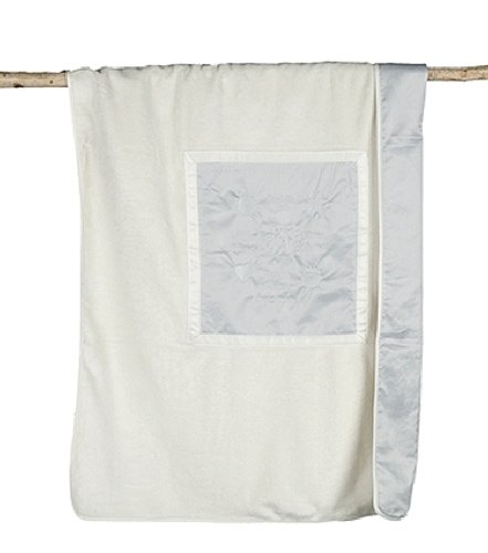 Barefoot Dreams Signature Plush Receiving Blanket, Color: Blue