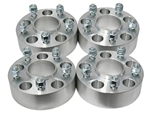 4pc 1.5″ Thick | 5×4.5 to 5×4.5 Hubcentric Wheel Spacers | for Jeep Grand Cherokee Wrangler & More