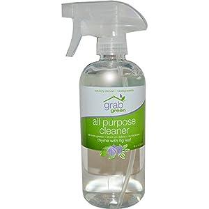 GrabGreen All Purpose Cleaner Thyme with Fig Leaf -- 16 fl oz
