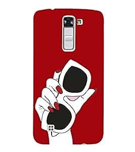 Sun Glasses 3D Hard Polycarbonate Designer Back Case Cover for LG K10 :: LG K10 Dual SIM :: LG K10 K420N K430DS K430DSF K430DSY