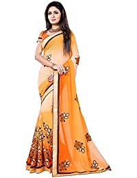 Shreeya Enterprise New Designer Embroidered Georgette Saree