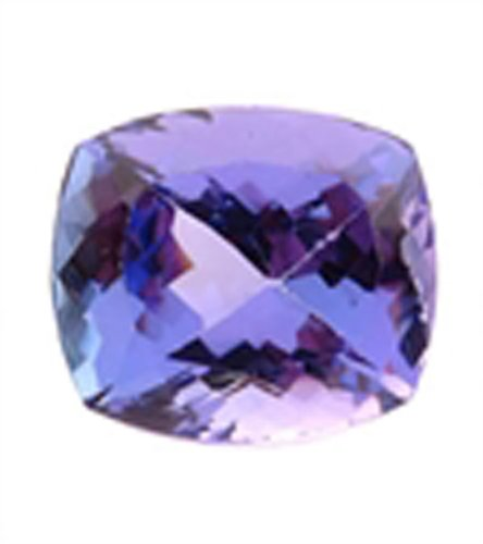Brazilian Cut Tanzanite Cushion Shape with Nice Color Rare Natural Loose Gems Stone for Any Collection (Rare Loose Gems compare prices)