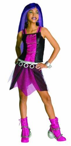 [Girl's Monster High Spectra Vondergeist Costume by JADEO] (Spectra Vondergeist Girls Costumes)
