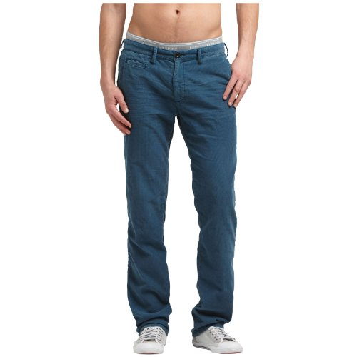Hilfiger Denim Men's Sasha Fa12 Crd Gd / 1957818867 Trousers Blue (465 Majolica Blue) 32/34